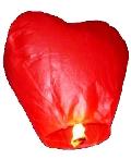 Купить дешевые небесные фонарики Сердце